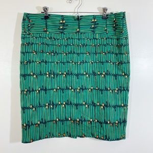 NWT The Limited Green Pencil Skirt sz 14